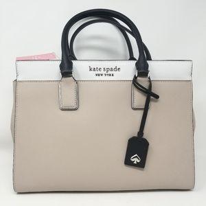 Kate Spade NEW Leather Satchel Handbag War…